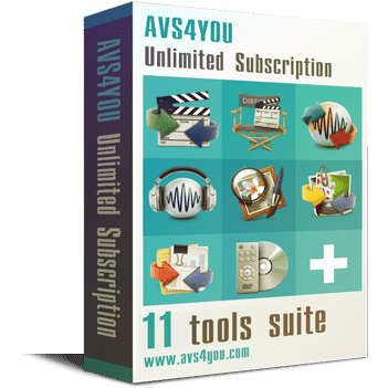 Avs4you Apps All in one bundle v4.3.1.156 Full version