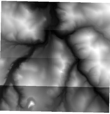 DEM data LIDAR