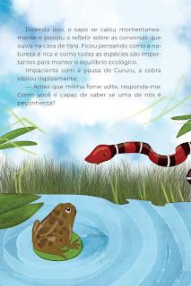 História Cobras (Conta Pra Mim) para Imprimir Grátis