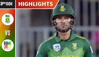 Cricket Highlights - South Africa vs Zimbabwe 3rd ODI 2018