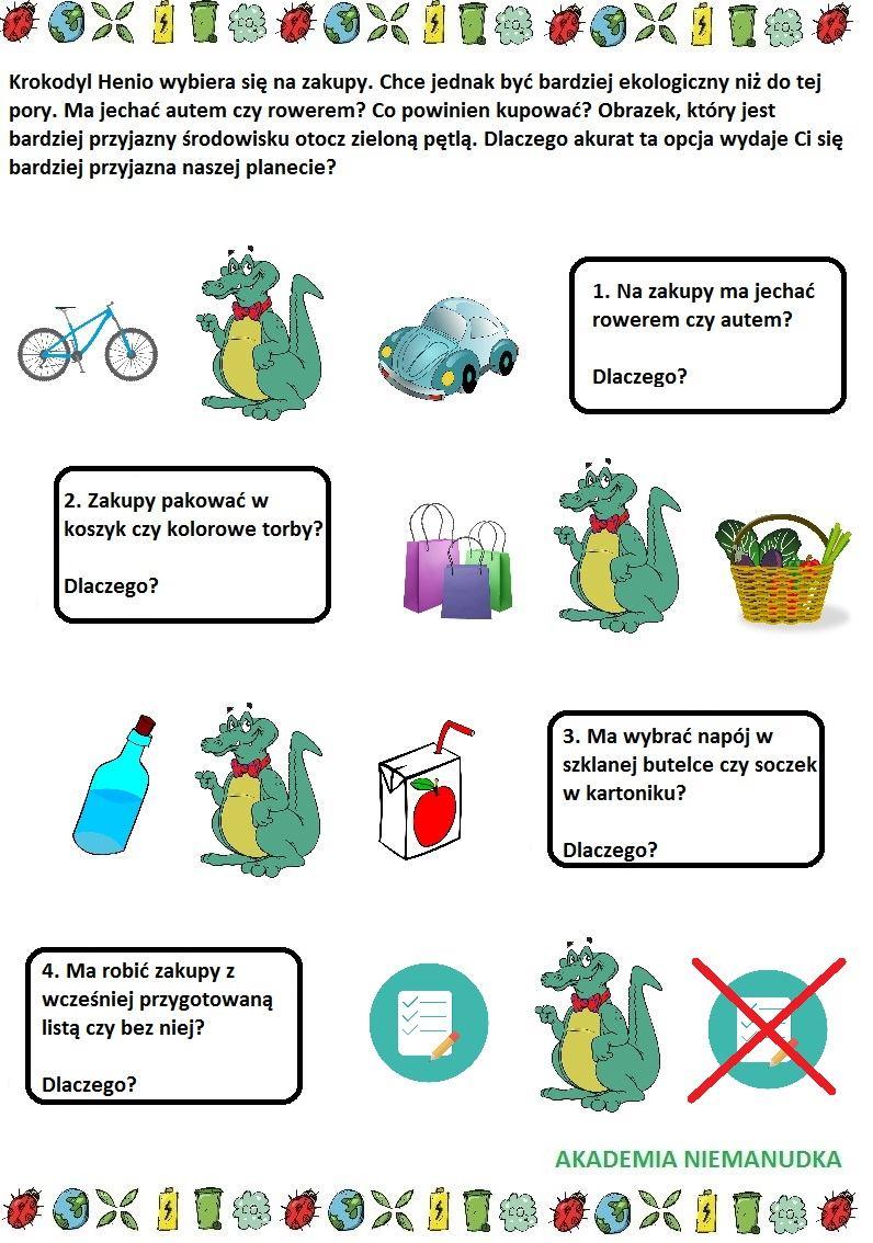dokonaj wyboru, ekologiczne zakupy