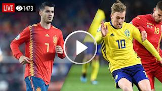 مشاهدة مباراة اسبانيا Vs السويد بث مباشر اليوم الاثنين 10/06/2019 التصفيات المؤهلة ليورو 2020