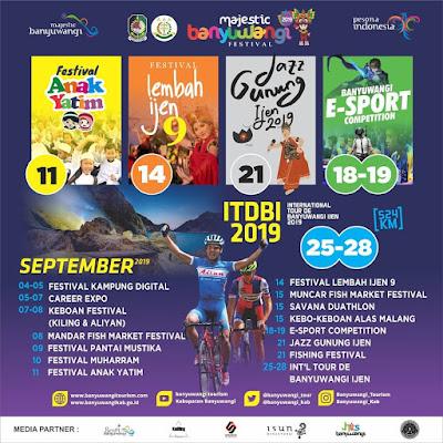 Jadwal Banyuwangi Festival Bulan September 2019