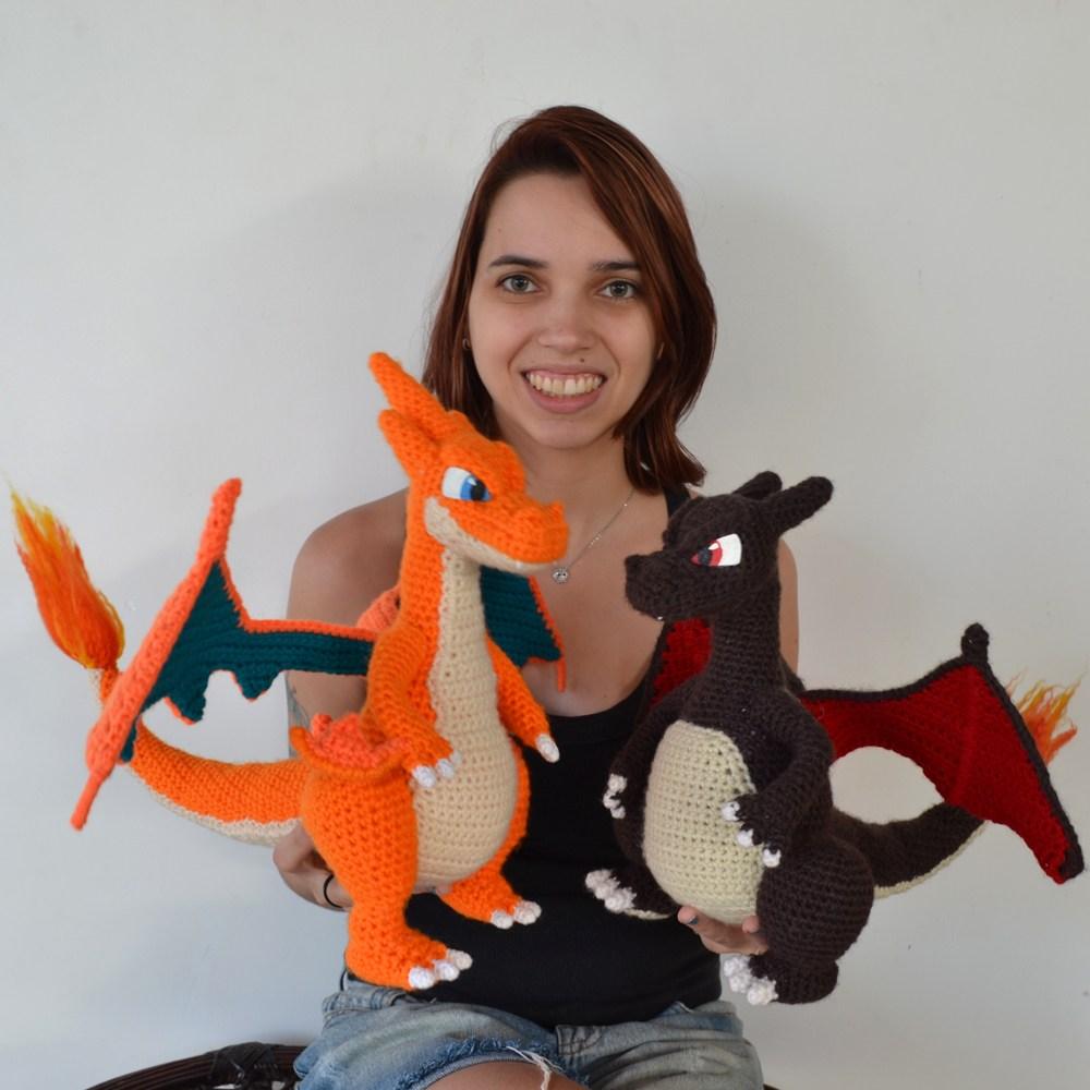 Crochet Pokemon: Charizard Pattern Review | | 1000x1000
