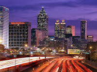 Atlanta At Night image from Bobby Owsinski's Music 3.0 blog