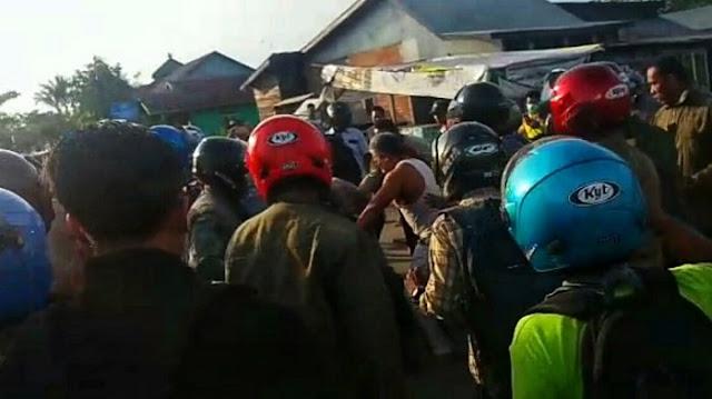 Bawa Parang, Pria Ini Ngamuk di Polsek Lalu Sabet Polisi