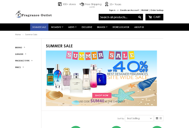 Fragrance Outlet Home Page