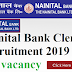 Nainital Bank Clerk Recruitment 2019- 100 vacancy
