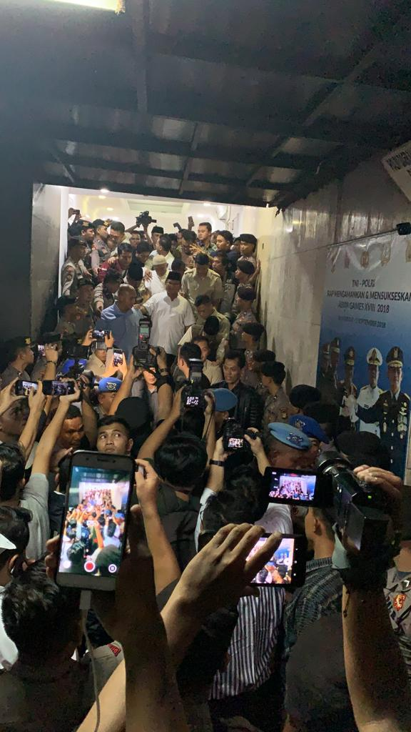 Tidak Diizinkan Bertemu, Prabowo Ucapkan Ini Dengan Nada Bergetar