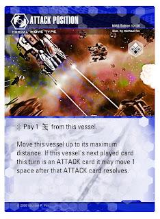 Dog Fight: Starship Edition Attack Position