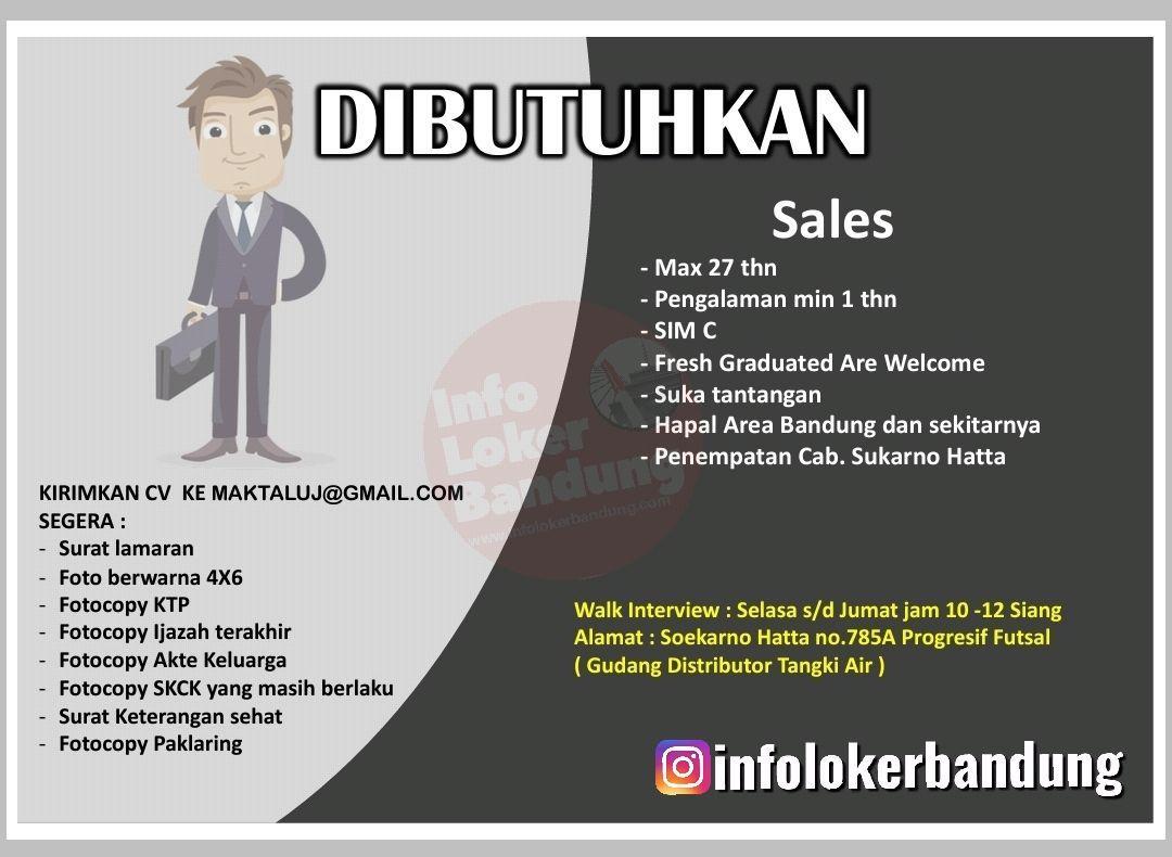 Lowongan Kerja PT. Maktal Distribusi Pratama Bandung Januari 2020