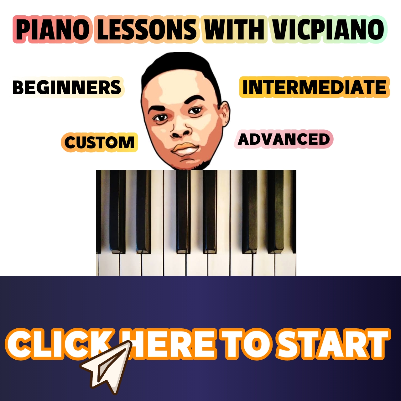 PIANO LESSONS WITH VICPIANO