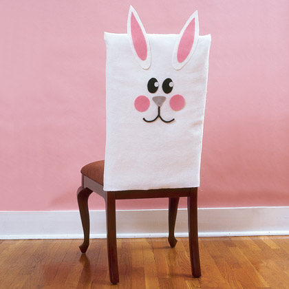 Easter Craft: Bunny Chair Covers