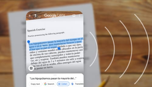 Google Lets allows handwriting and copying to your computer