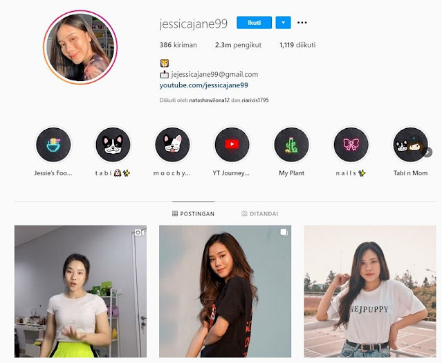 Instagram Jessica Jane Via IG @Jessicajane99
