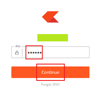 Zerodha Login Screen