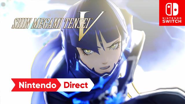shin megami tensei 5 gameplay release date november 12, 2021 nintendo switch exclusive role playing game atlus nintendo direct e3 2021 livestream