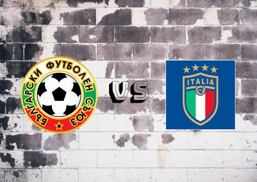 Bulgaria vs Italia  Resumen y Partido Completo