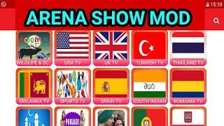ARENA SHOW IPTV POUR LES APPAREILS ANDROID 2020