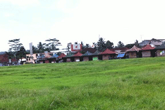 Taman Surawisesa Kawali Sebagai Destinasi Hiburan Keluarga Sore Dan Malam Hari