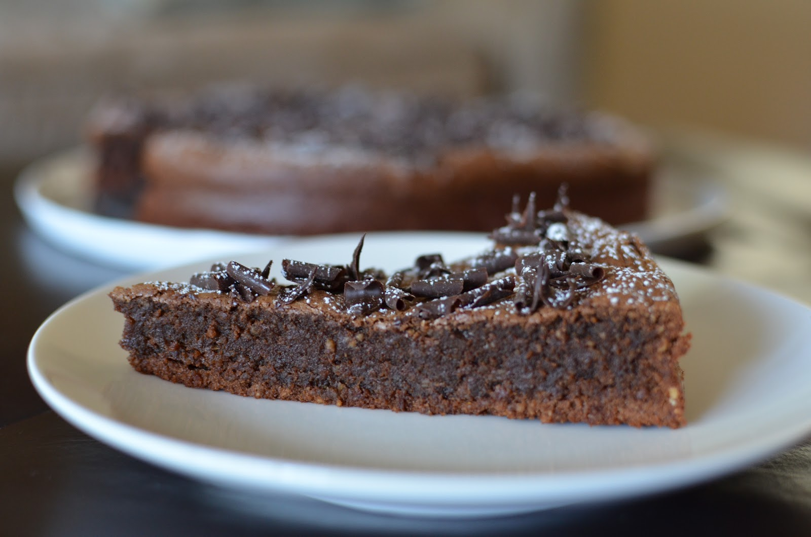 Giada Chocolate Almond Cake