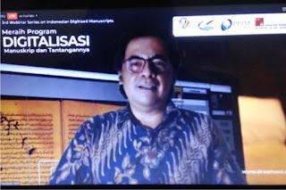 MANASSA Menduniakan Manuskrip Nusantara bersama DREAMSEA melalui Program Digitalisasi Naskah