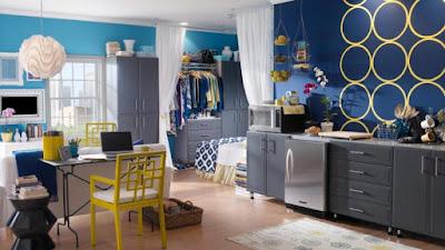 Tipe Cara Mendesain Apartemen Type Studio