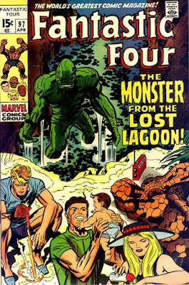 Fantastic Four #97, the Monster From the Lost Lagoon