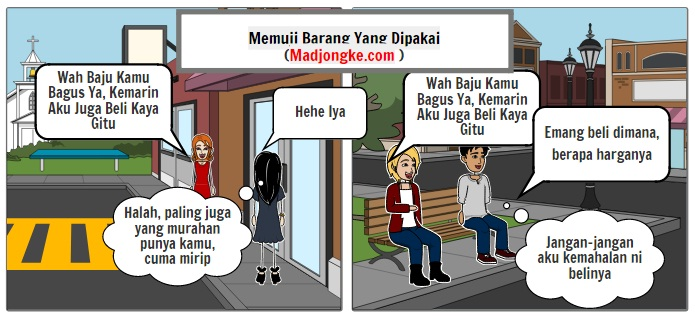 komik perbedaan pria dan wanita tentang basa basi