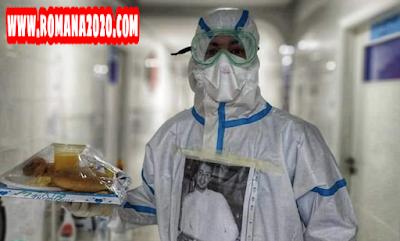 أخبار المغرب الطاقم الطبي لفيروس كورونا بالمغرب covid-19 corona virus كوفيد-19 بتطوان يختار حمل ملصقات لصور شخصية