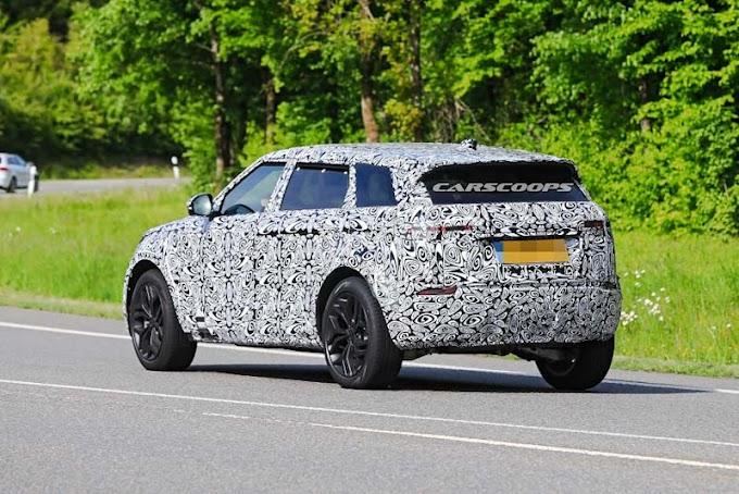 Range Rover 7 seats new conducts secret tests (spy photo)