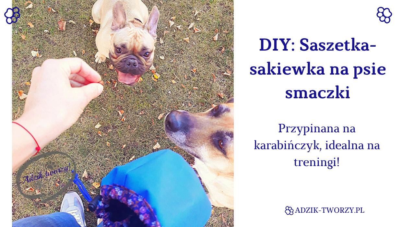 DIY: Jak uszyć saszetkę-sakiewkę na psie przysmaki #2
