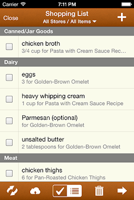 MealBoard - a cool new Meal Planning, grocery shopping list producing App!  #menu #mealplanning #app #iphone