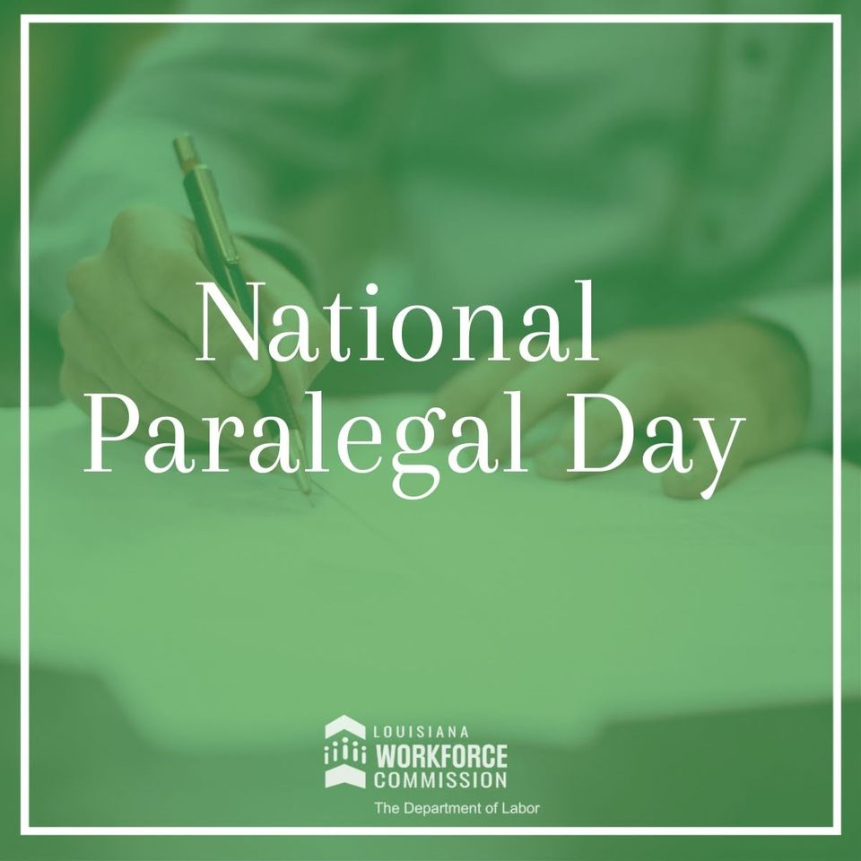 National Paralegal Day Wishes Unique Image
