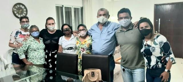 Adalberto Cavalcanti recebe apoio da família Evangelista na sua pré-campanha a prefeitura de Afrânio-PE