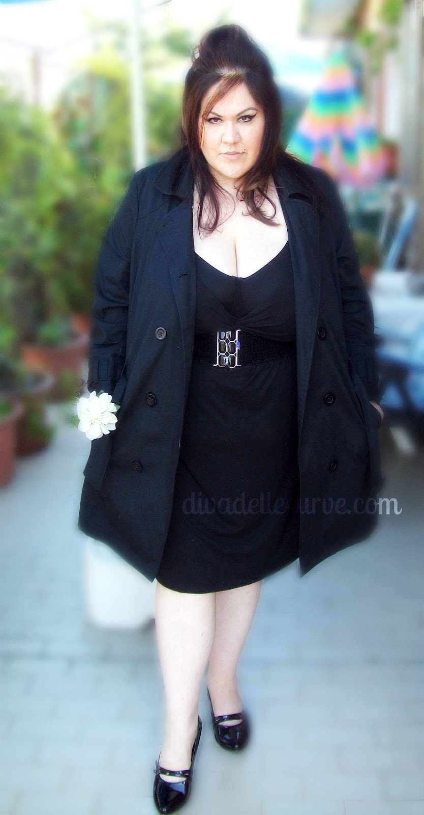 Song inspired plus size outfit - Back to Black by Amy Winehouse ... 37512371c