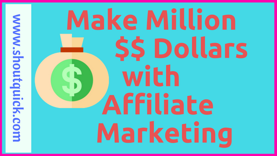 make money with Affiliate Marketting