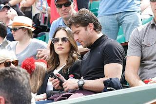Maxwell And Giulia At Game
