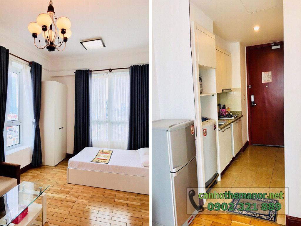 Căn hộ The Manor quận Bình Thạnh cho thuê tầng 7 block AW - hình 3