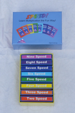 Speed! A Game to Learn Multiplication