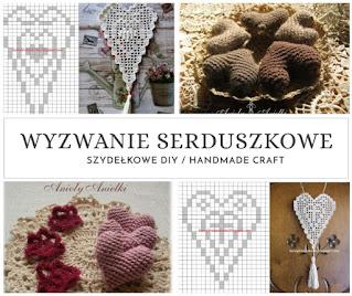 Serca na szydełku - bezpłatne schematy i wzory DIY