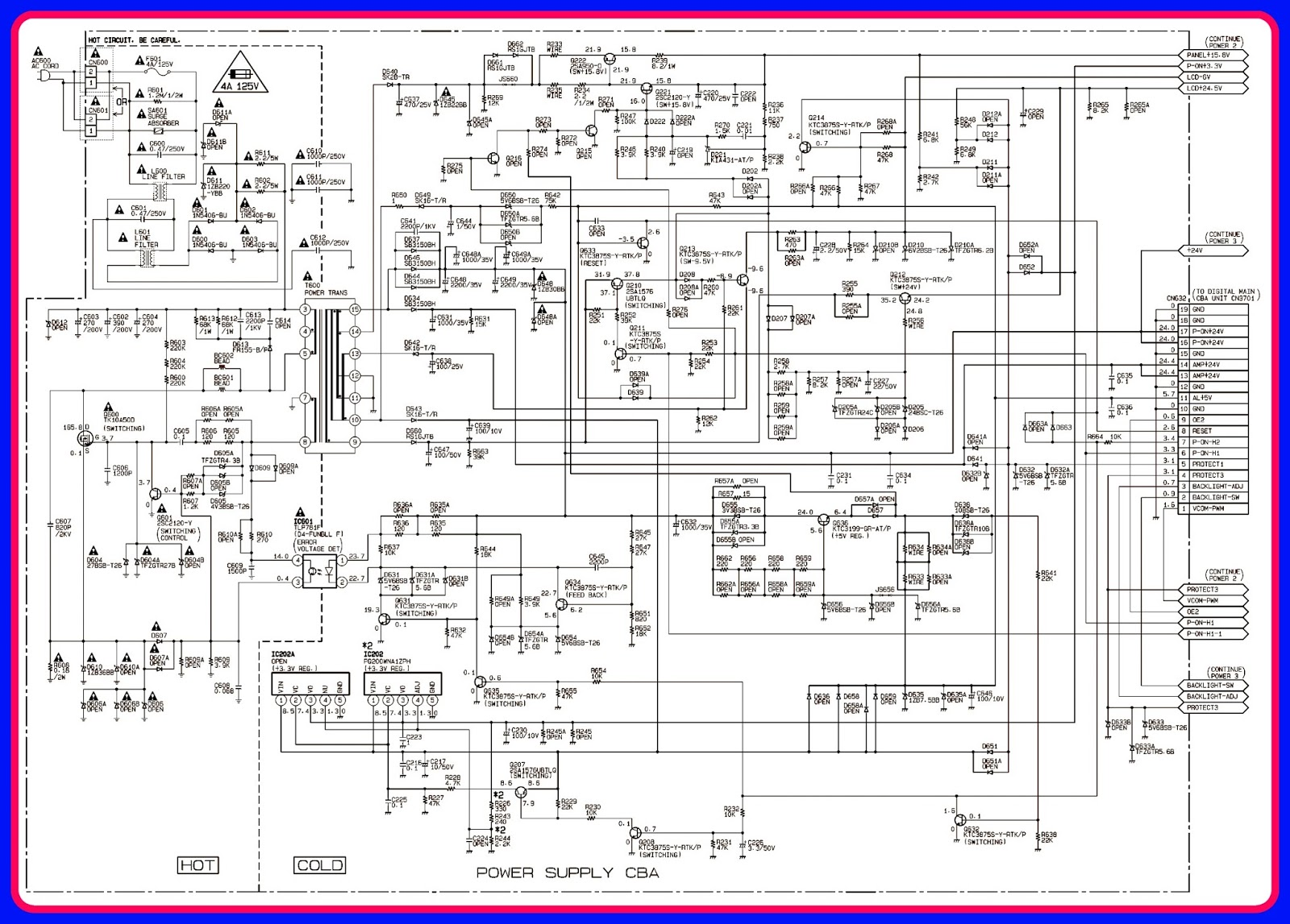 ELECTRONIC EQUIPMENT REPAIR CENTRE : EMERSON LC320EM2