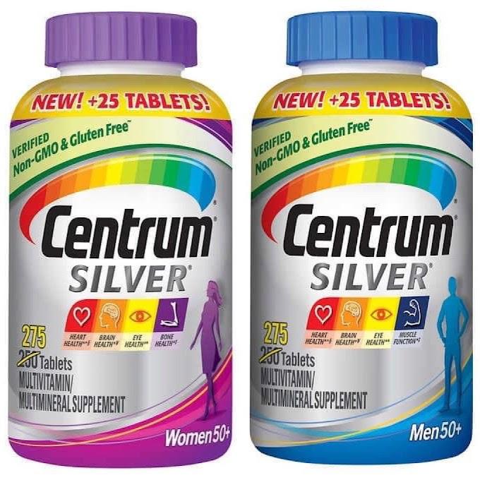 VITAMIN CENTRUM SILVER, viên uống bổ sung dưỡng chất cho Người lớn tuổi
