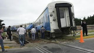 Descarriló un tren que iba a Tucumán