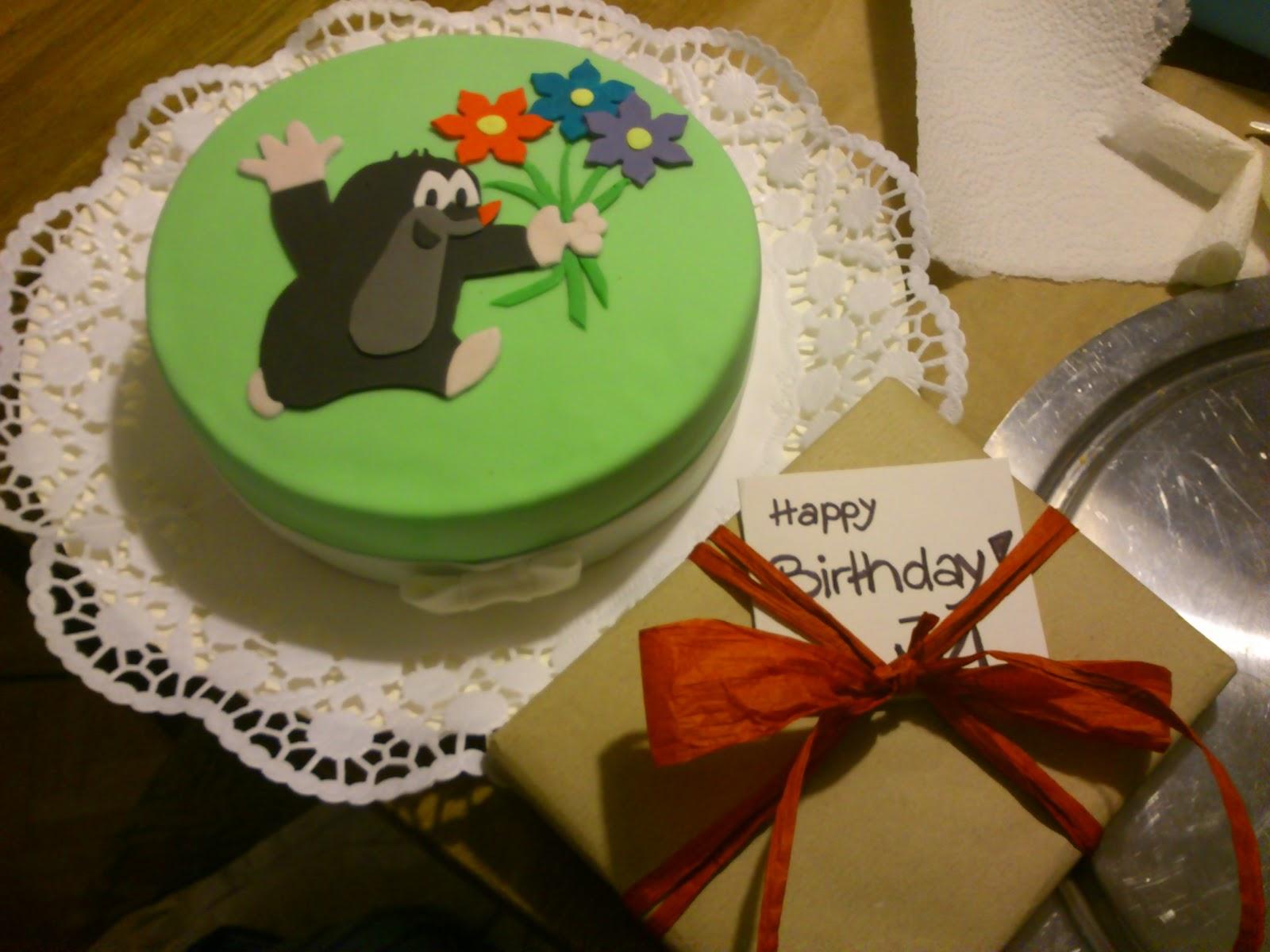 Tortchenhimmel Ein Maulwurf Zum Geburtstag