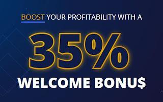PrimeXBT Crypto Deposit Bonus - 35% Welcome Bonus