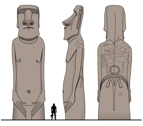 moai-volcan-rano-raraku-isla-de-pascua-moais--historia-dibujo-dibujos-la-cuantos-hay-drawings-ilustration-ilustraciones-illustrations-illustration