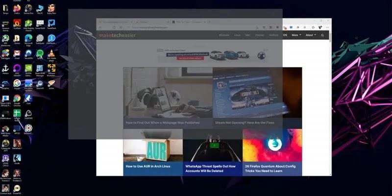 خذ لقطة شاشة Windows 10 Hero