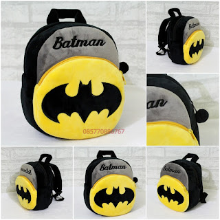 Tas Ransel Boneka Anak Karakter Batman