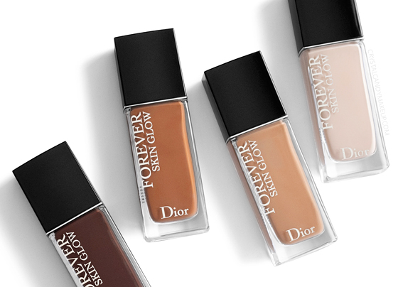 Dior Forever Skin Glow 24h Wear Radiant Perfection Skin-Caring Foundation Review Swatches Before After